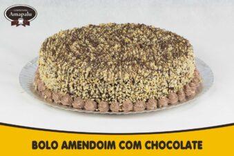 Bolo Amendoim com Chocolate