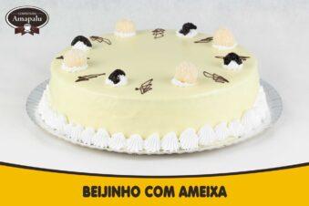 Bolo Beijinho com  Ameixa