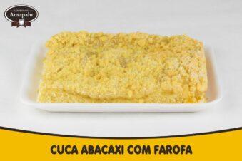 Cuca Abacaxi com Farofa
