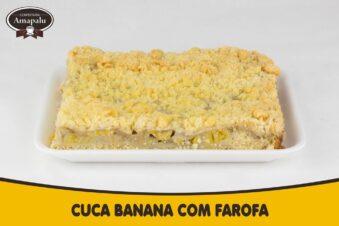 Cuca Banana com Farofa