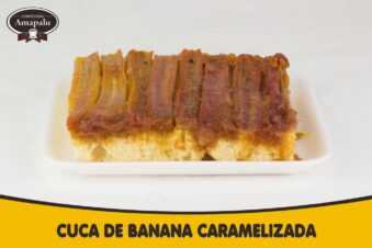 Cuca de Banana Caramelizada