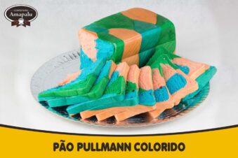 Pão Pullmann Colorido