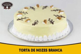 Torta de Nozes Branca