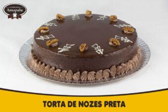 Torta de Nozes Preta