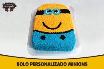 Bolo Personalizado Minions