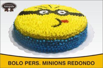Bolo Pers Minions Redondo
