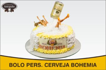 Bolo Pers. Cerveja Bohemia