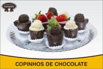 Copinhos de Chocolate